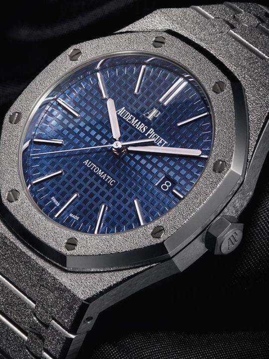 Gentleman's Edition: Audemars Piguet Royal Oak Frosted Gold