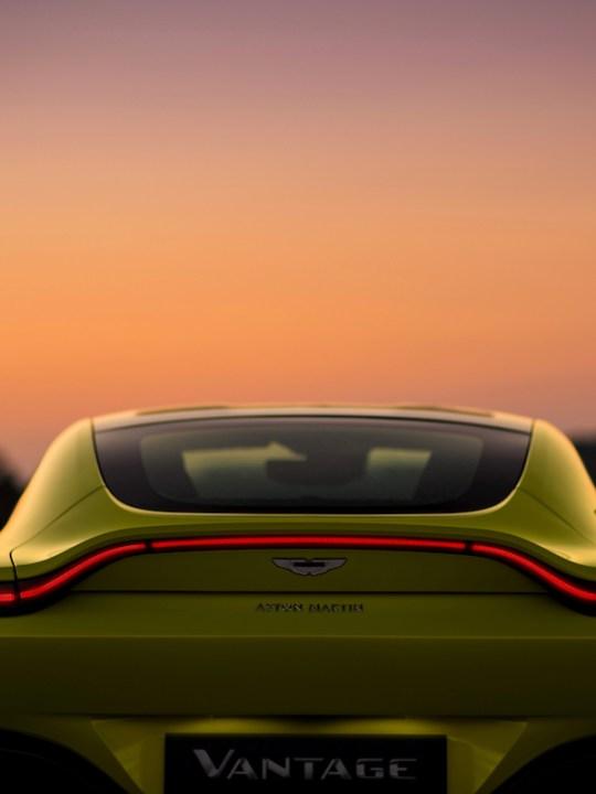 Introducing the New Aston Martin Vantage