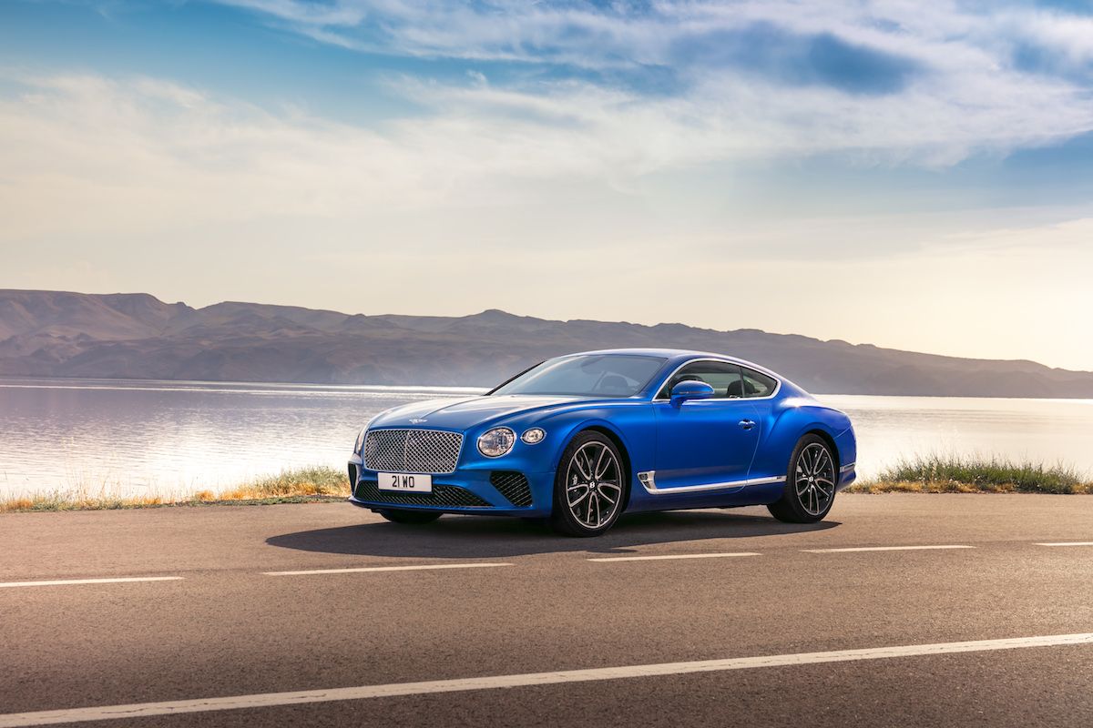 BBC TopGear Magazine Recognizes Bentley Continental GT as GT