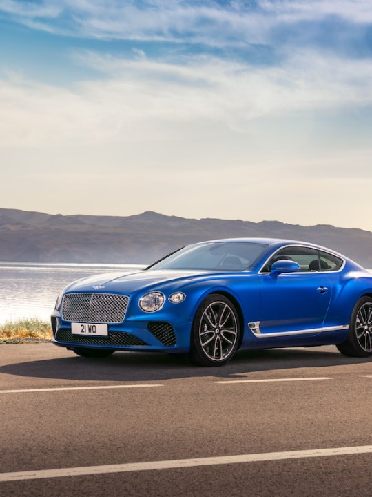BBC TopGear Magazine Recognizes Bentley Continental GT as GT of the Year