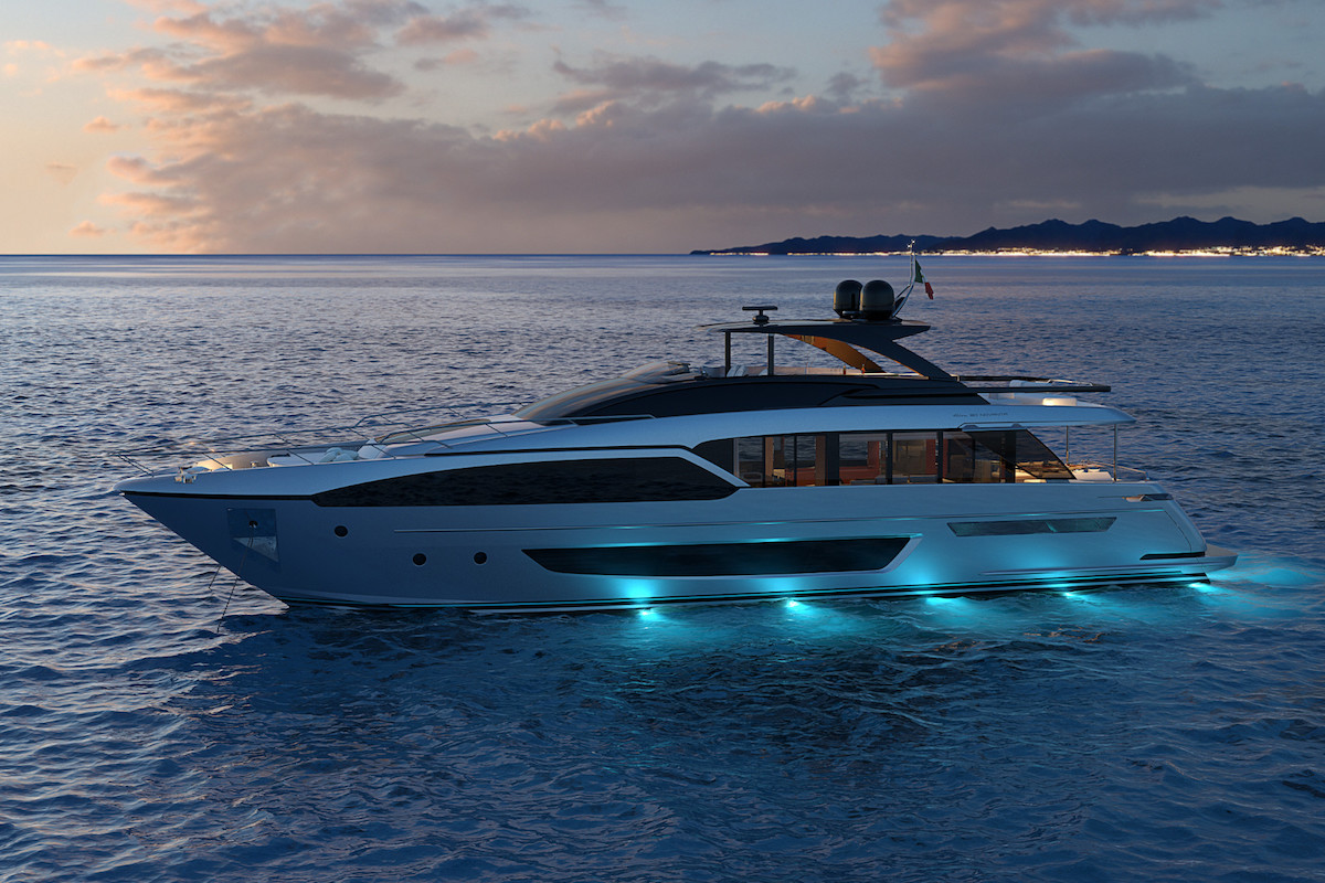 Riva 90′ Project: the Exterior Design Is Revealed