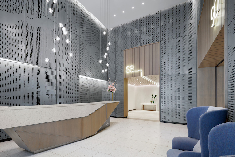 A First Look Inside the Amenities at Workshop/APD's 88&90 Lexington