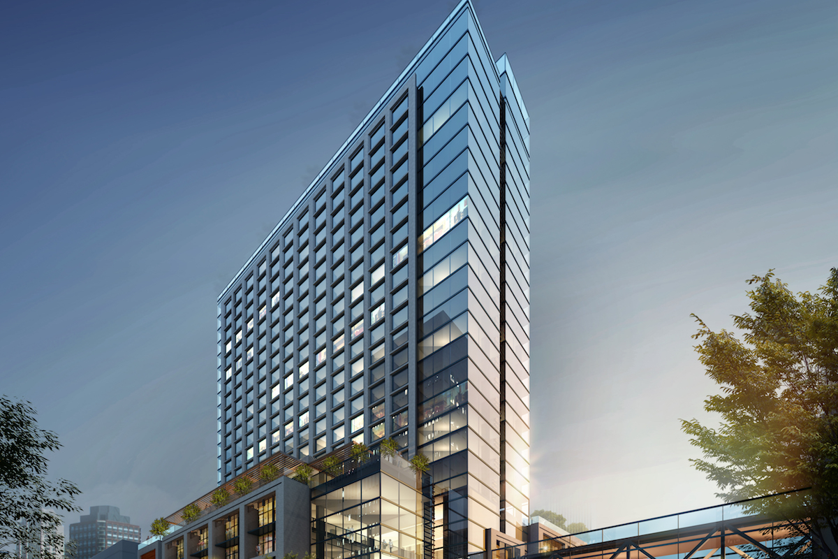 The JW Marriott Tampa Hotel Breaks Ground