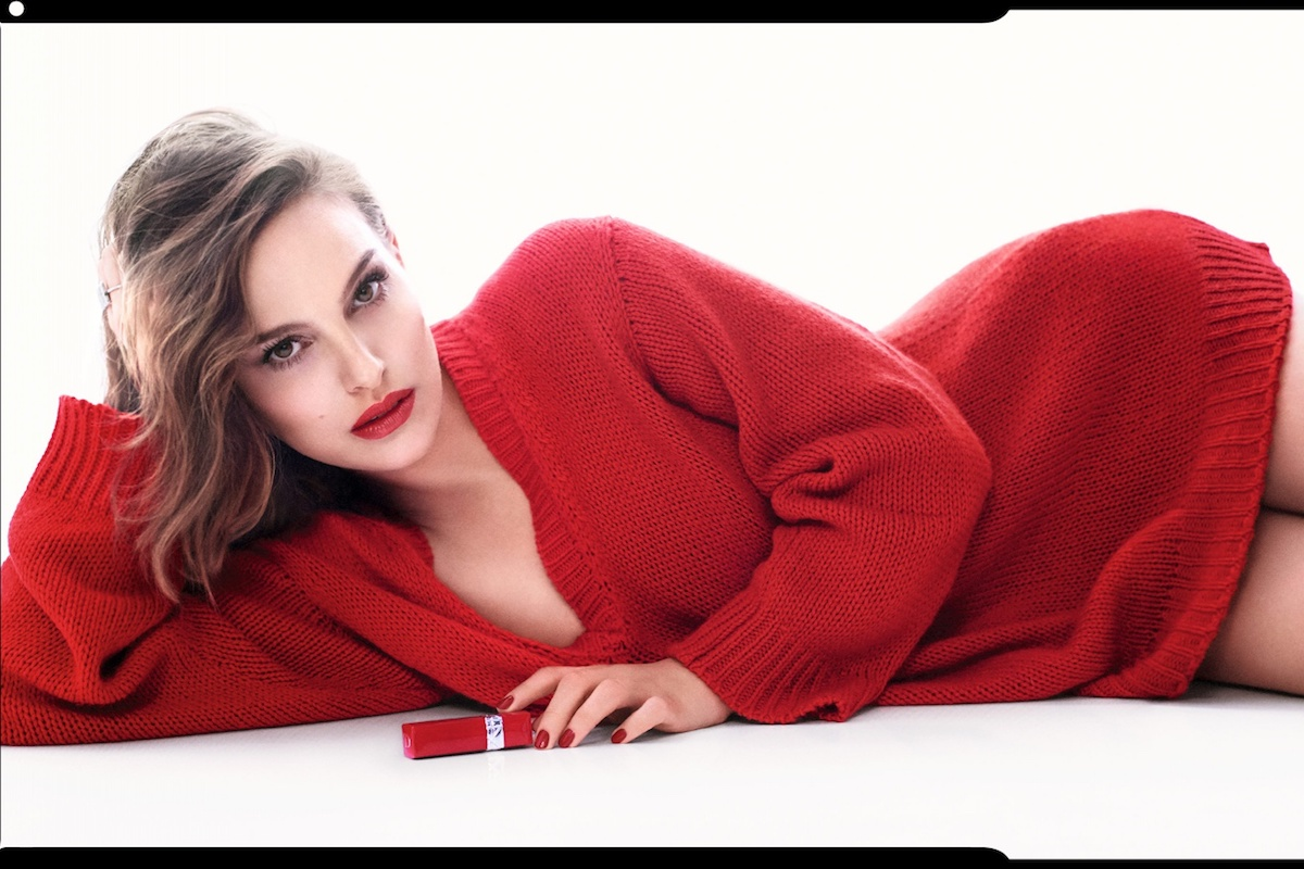 4b3aac54 Natalie Portman Is the Face of Rouge Dior Ultra Rouge Lipstick