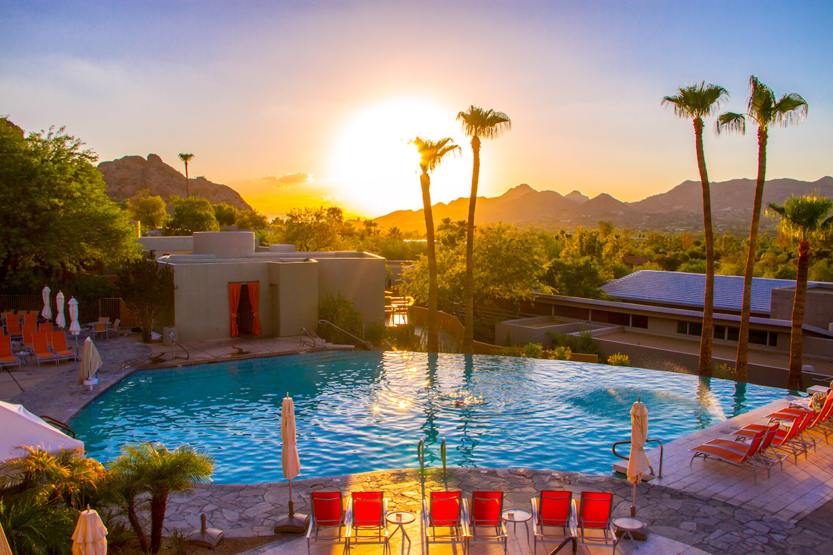 06184ec67e Turning up the Dial on Romance at Sanctuary on Camelback Mountain Resort in  Scottsdale