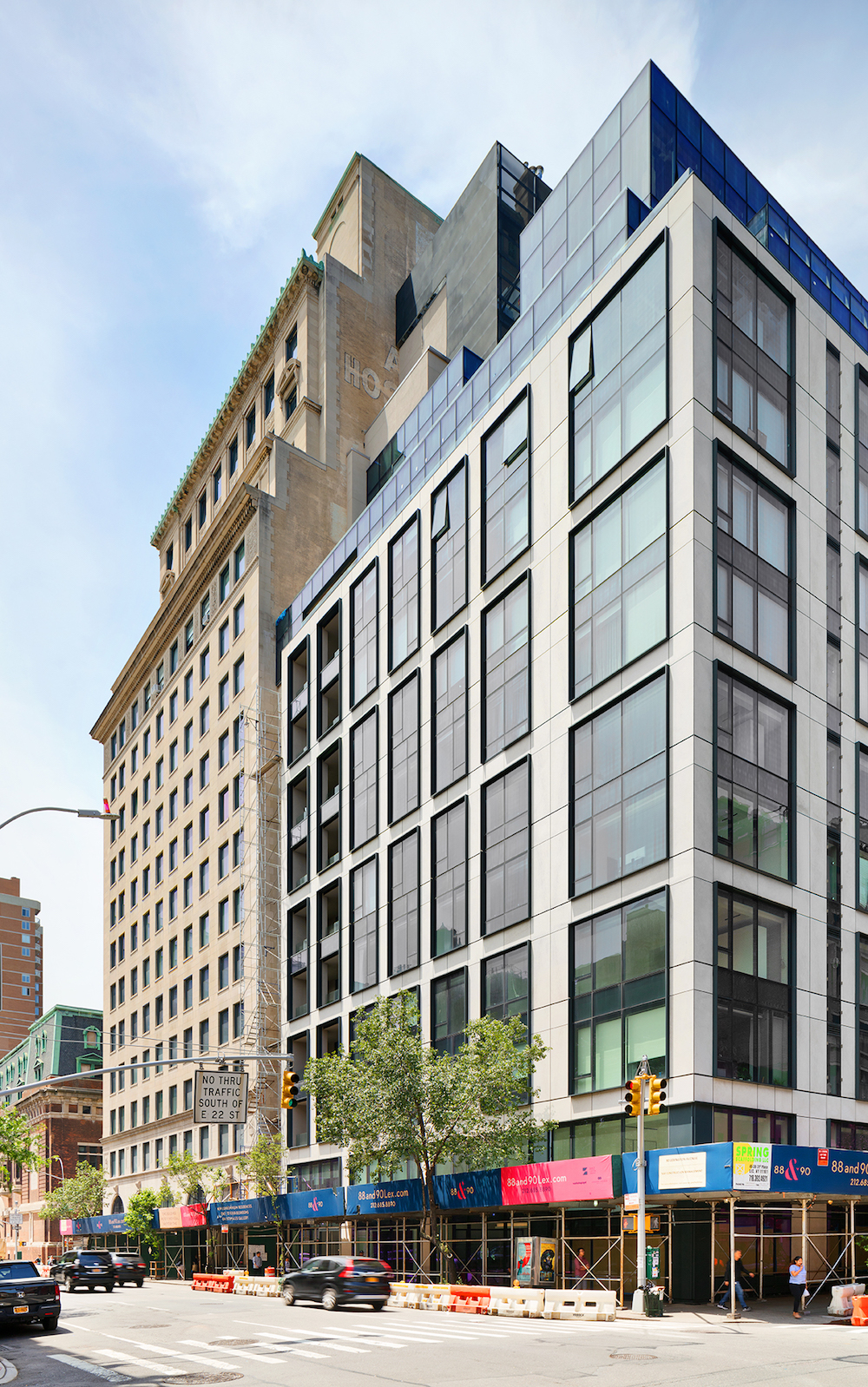 Luxe NYC Condos Pair the Old with the New