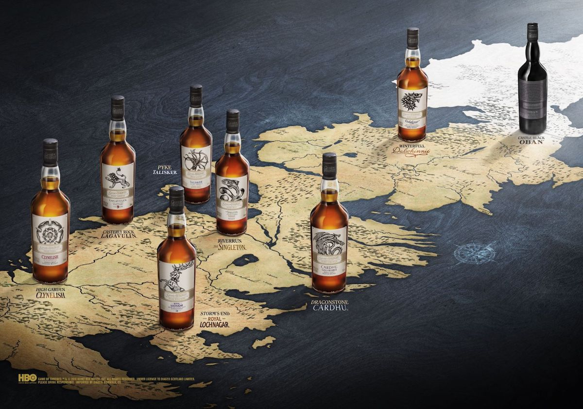 Game Of Thrones Six Kingdoms Mortlach Single Malt Scotch Whisky Aged 15 Years