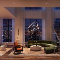 Cloud-Piercing Duplex Condominiums Are New York Status Symbols