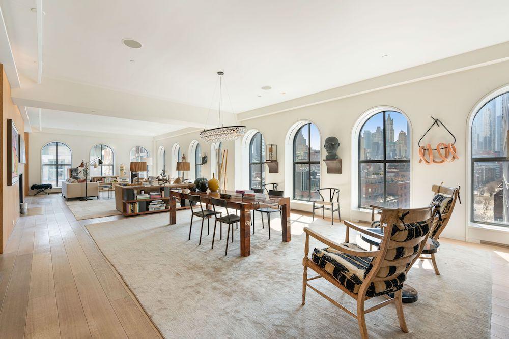 Steven Harris Architect-Designed Duplex Penthouse Comes to Market