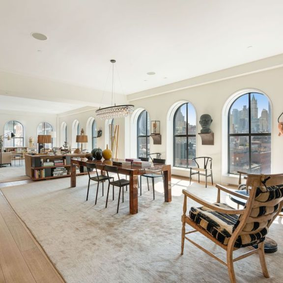 Steven Harris Architect-Designed Duplex Penthouse Comes to Market