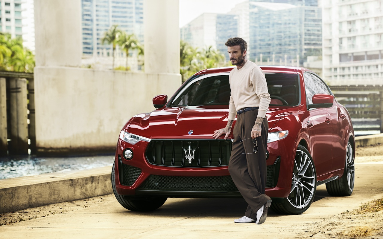 Maserati Releases a Campaign Featuring Its New Global Ambassador, David Beckham