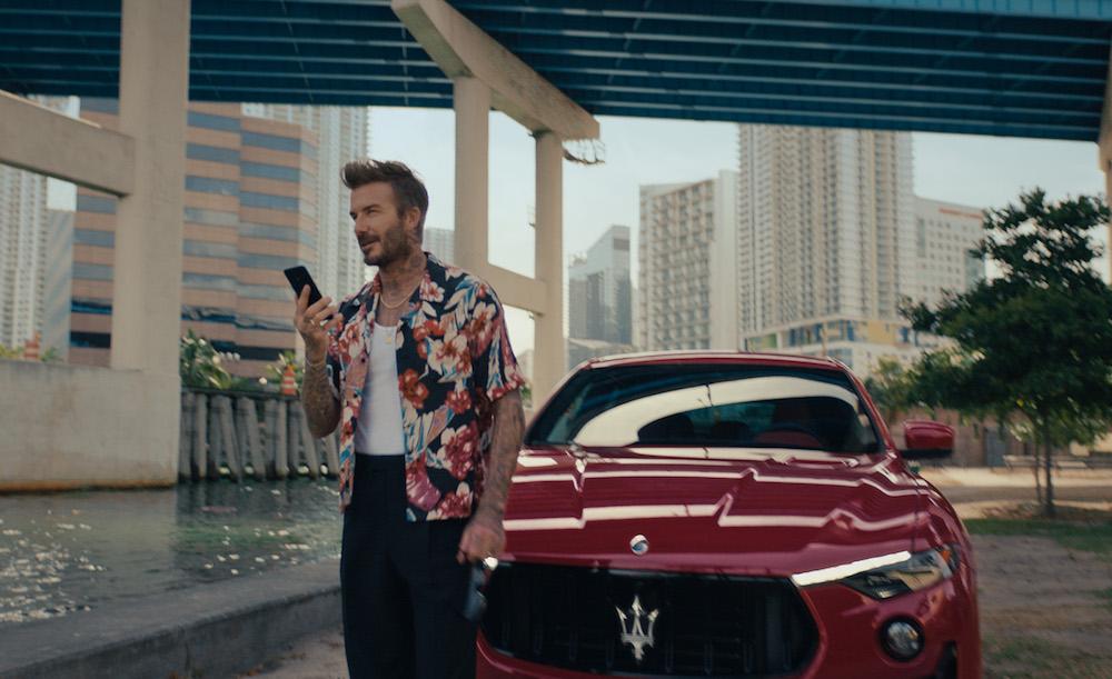 Maserati Releases a Campaign Featuring Its New Global Ambassador, David Beckham