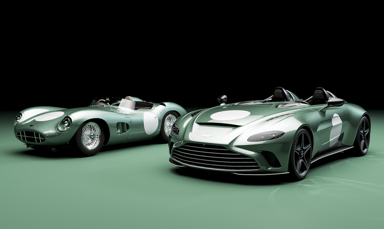 Aston Martin Offers Historic DBR1 Optional Specification for V12 Speedster