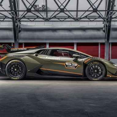 Racing in Style: Lamborghini Huracán Super Trofeo EVO2