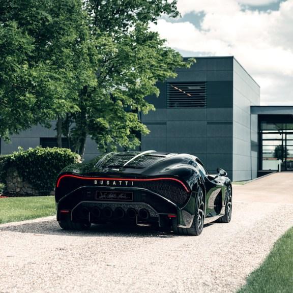 $13.4 Million Hypercar Bugatti La Voiture Noire Final Edition