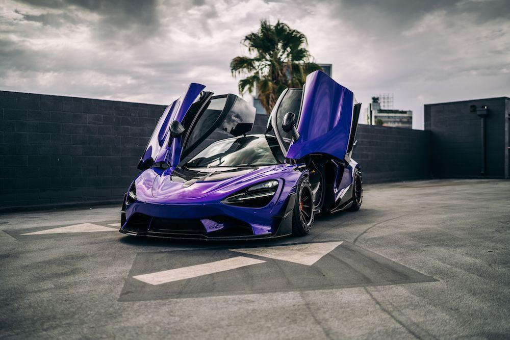 1016 Industries 720S Is a Purple Rendition of Carbon Fiber McLaren