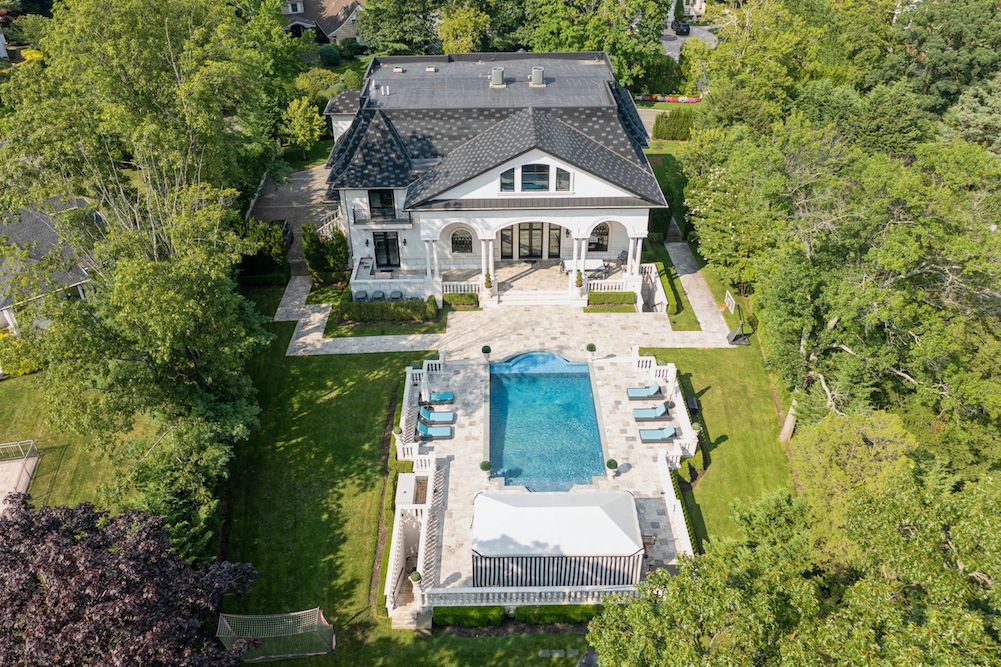 Rare and Masterfully Designed Mansion in Long Island's Hewlett Bay Park Hits Market at $7,595,000