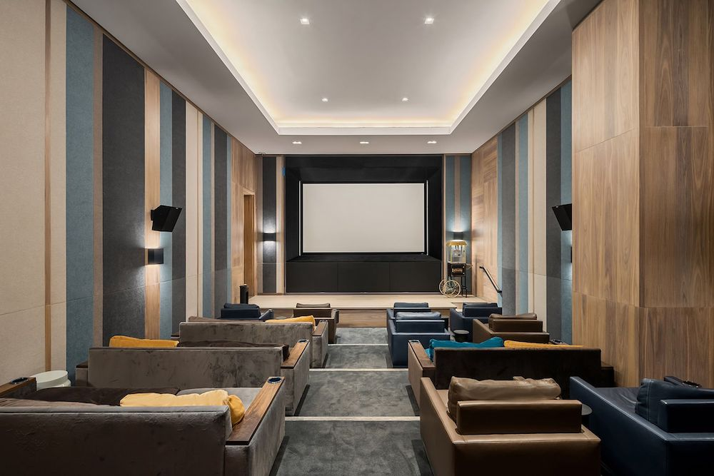 Screening Rooms in NYC Condos Offer the Exclusive Movie-Going Experience