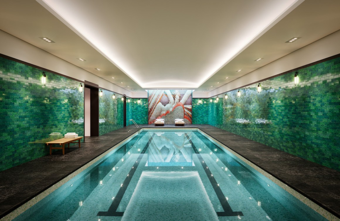 Make a Splash: Four Indoor Pools for All Four Seasons