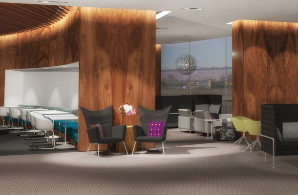 Introducing the Centurion Lounge - Exclusively for American Express Cardholders