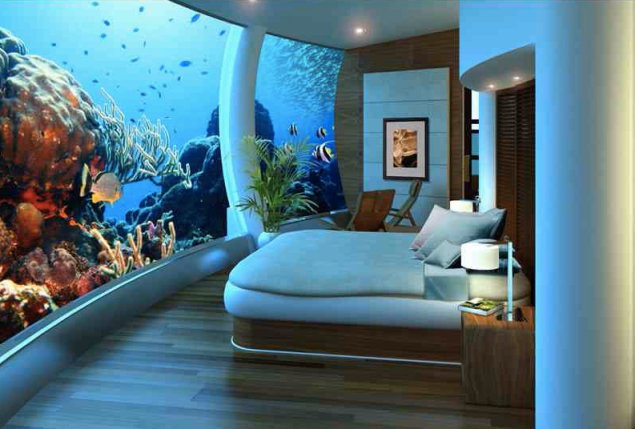 Poseidon Undersea Resort in Fiji Under Construction