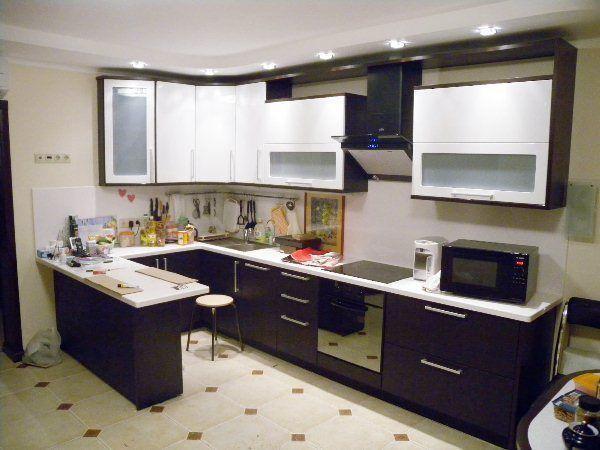 кухни угловые с барной стойкой дизайн фото 3
