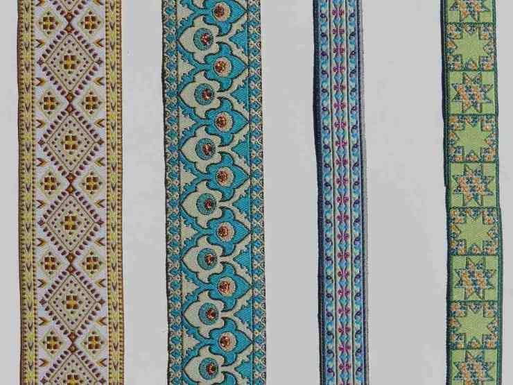 Фото декоративных лент для одежды