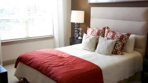 Bedroom at Alara Uptown Apartments in Uptown Dallas TX Lux Locators Dallas Apartment Locators