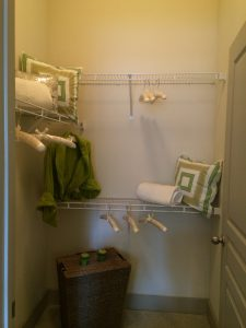 Closet at 2929 Wycliff Apartments in Dallas TX Lux Locators Dallas Apartment Locators