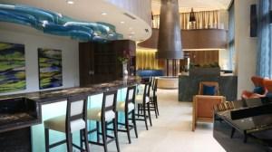 Community Bar at The Taylor Apartments in Uptown Dallas TX Lux Locators Dallas Apartment Locators