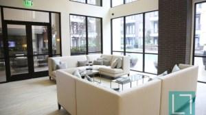 Community Common Room at L2 Uptown Apartments in Uptown Dallas TX Lux Locators Dallas Apartment Locators