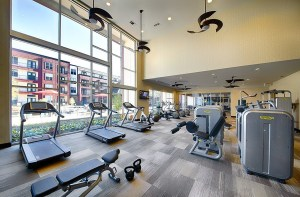 Fitness Room at Strata Apartments in Uptown Dallas TX Lux Locators Dallas Apartment Locators