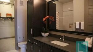 Kitchen Closet at L2 Uptown Apartments in Uptown Dallas TX Lux Locators Dallas Apartment Locators