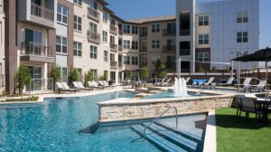Pool Area at Avant Apartments in Uptown Dallas TX Lux Locators Dallas Apartment Locators