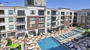Pool Top View at Alara Uptown Apartments in Uptown Dallas TX Lux Locators Dallas Apartment Locators