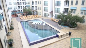 Pool View at The Monterey by Windsor Apartments in Uptown Dallas TX Lux Locators Dallas Apartment Locators