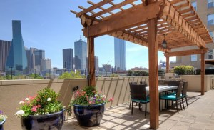 Terrace at The Vista Apartments in Uptown Dallas TX Lux Locators Dallas Apartment Locators