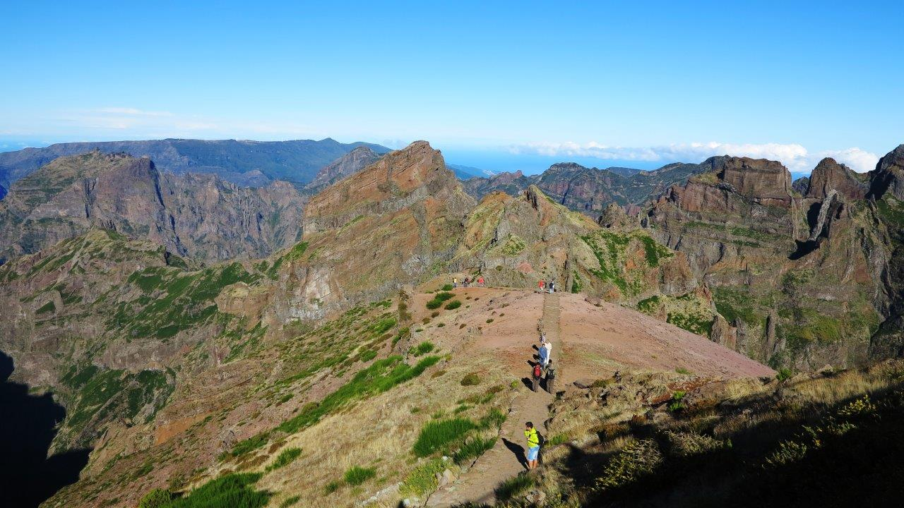 Madeira booking; mountains walks in Madeira
