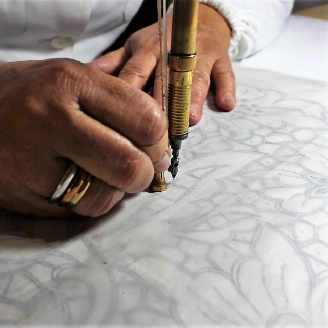 Madeira hand embroidery