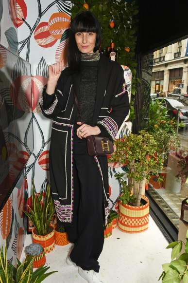 Erin O'Connor at Cointreau launch in Liberty London