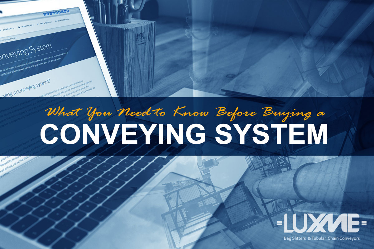 Buying a Conveying System
