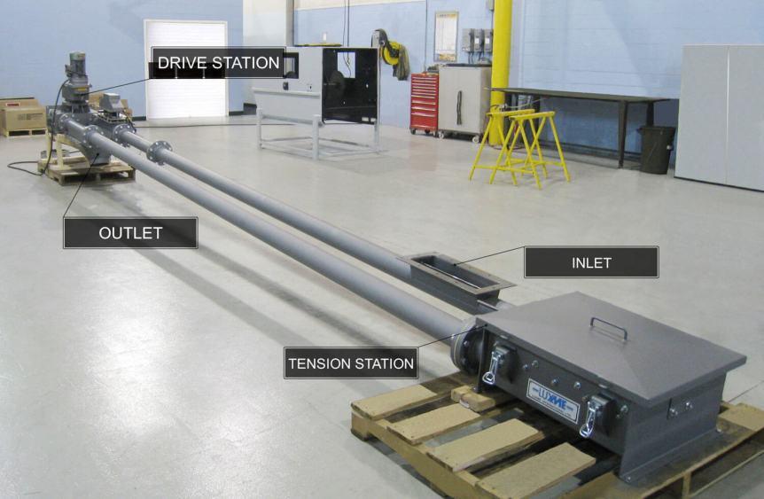 Horizontal Tubular Drag Chain Conveyor