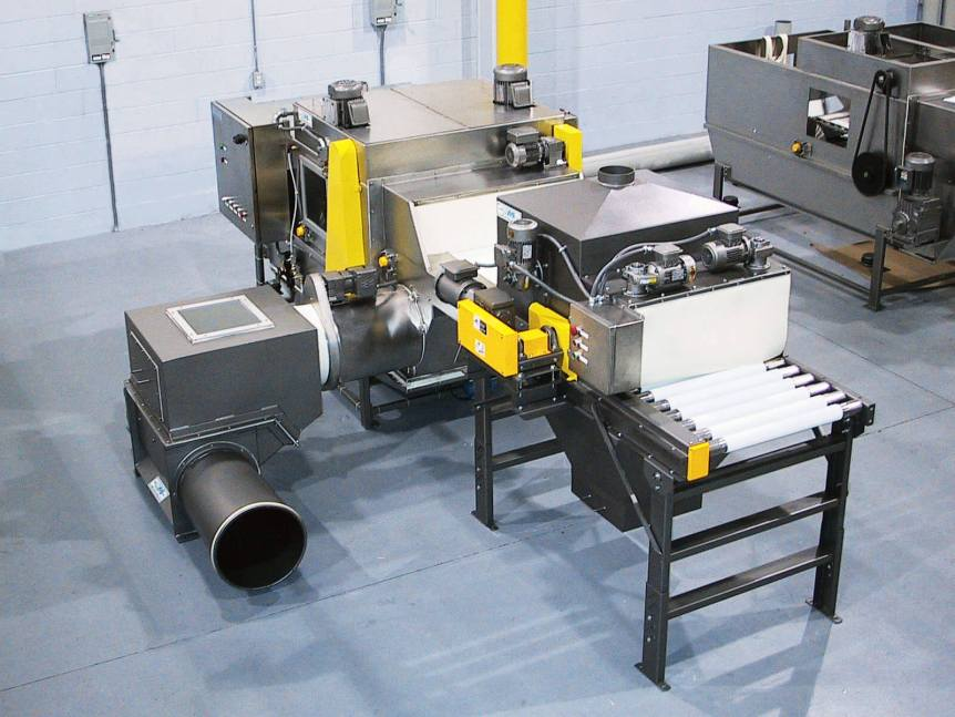 Automatic Bag Opener with Bag Brusher