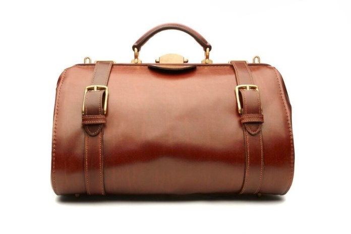 INSPIRATIONAL AMERICAN LUXURY LEATHER BAG PIONEER STEVEN FISCHER