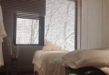 Niseko Spa Private Massage Room on LuxNiseko Alpine Luxury Lifestyle Magazine