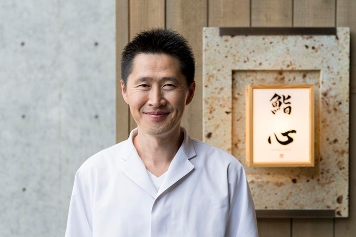 Sushi Shin Chef Masaki Miyakawa in Annupuri Village Niseko on LuxNiseko Alpine Luxury Lifestyle Magazine