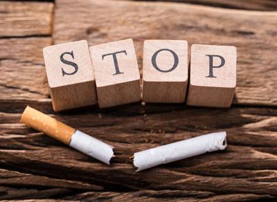 Stop cigarette luxopuncture