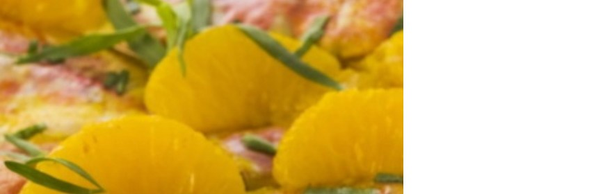 Poisson blanc au jus de mandarine
