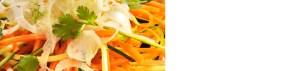 Carottes et fenouils râpés au sésame