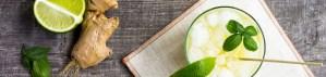 Limonade Gingembre Miel et citrons verts